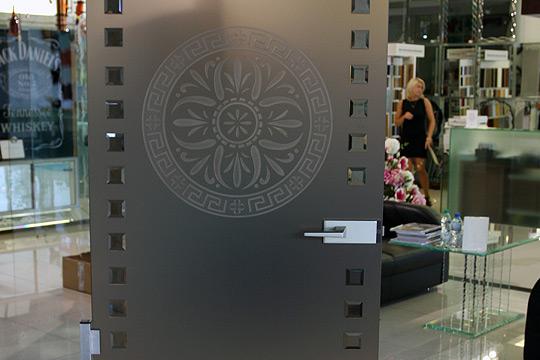 stylowe drzwi szklane
